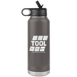 Gas Up Heritage Collection Double Walled Stainless Steel Water Bottle 32 oz.