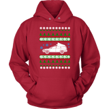 Volvo V70R Ugly Christmas Sweater hoodie and long sleeve t-shirt XC70 sweatshirt