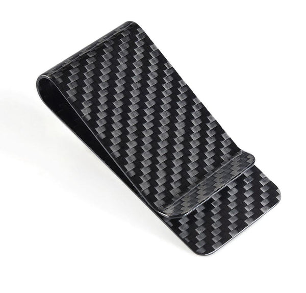 Tool and Dye Designs Real Carbon Fiber Money Clip / High Gloss
