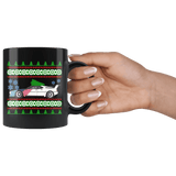BMW M1 Ugly Christmas Sweater Mug