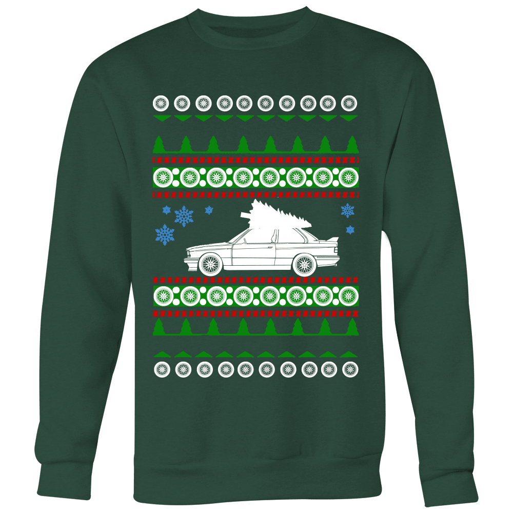BMW E30 new M3 Premium Ugly Christmas Sweater Hoodie and Long Sleeve T-shirt sweatshirt