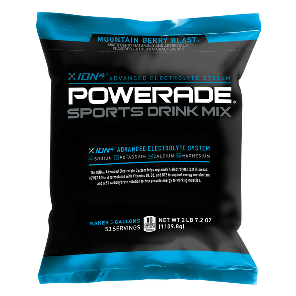 Powerade 174 5 Gallon Powder 12 Pack Sports Drink Mix