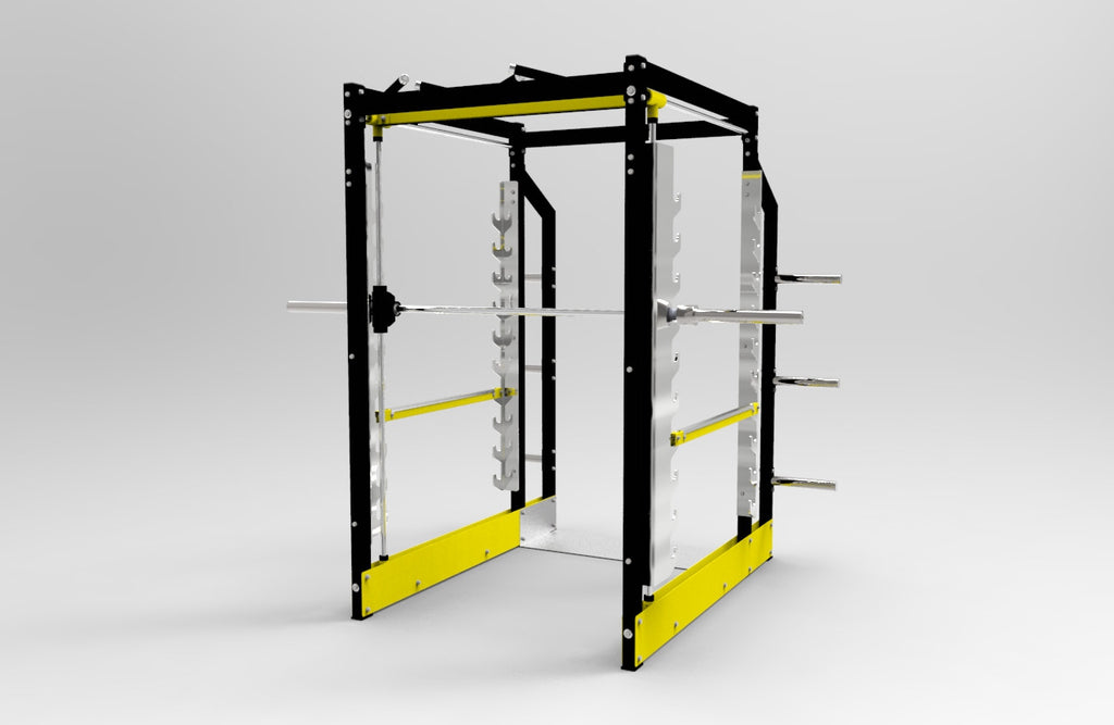 IC-60793D Commercial 3D Smith Machine