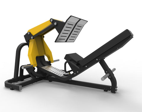 IC6066 Full Commercial 45 degree leverage Leg Press