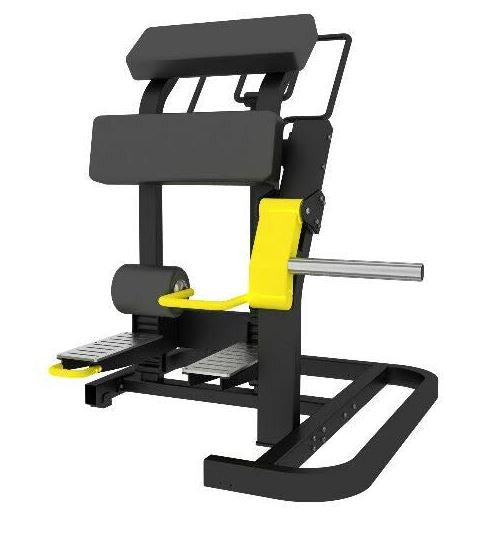 IC-6075 STANDING LEG CURL PLATE LOADED GYM MACHINE