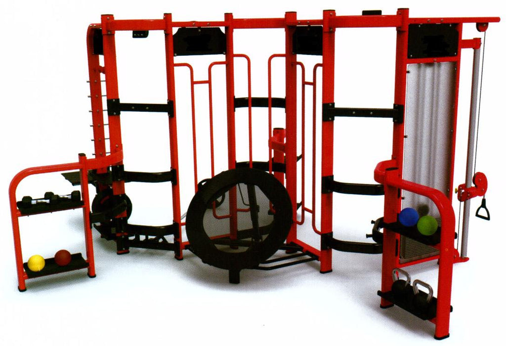 IC360S Commercial  Multi Station Functional Training