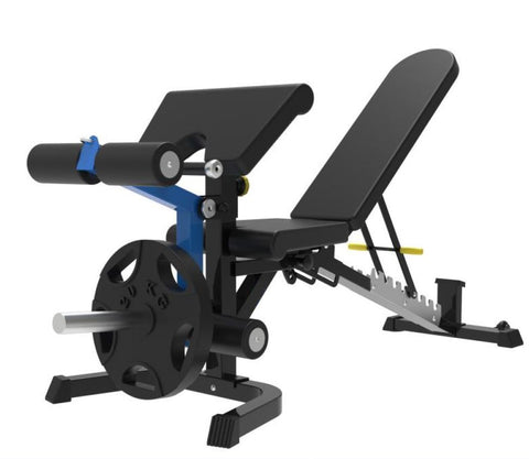 IC-1021 Adjustable FID bench with Preacher & Leg Attachment Pre-order ETA OCTOBER