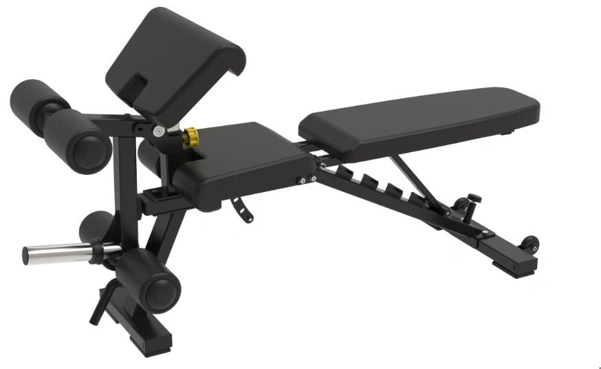 IC-2014 Adjustable FID Bench with Leg Attachment & Preacher Curl Attachment. Pre Order ETA MID OCTOBER