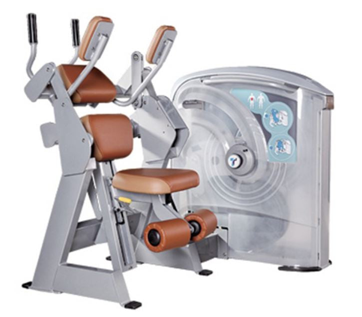 IC-5013 Abdominal Crunch Machine Platinum Dial Plate Loaded Series.