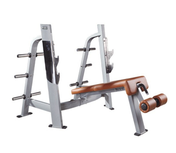 IC-P5024 Commercial Olympic Decline Bench Press Heavy Duty Gym Fitness