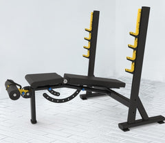 IC-2002 Adjustable Commercial Olympic FID Bench Press