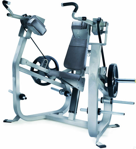 C-P5044 Commercial Plate Loaded Bicep Curl Machine Heavy Duty Gym Fitness