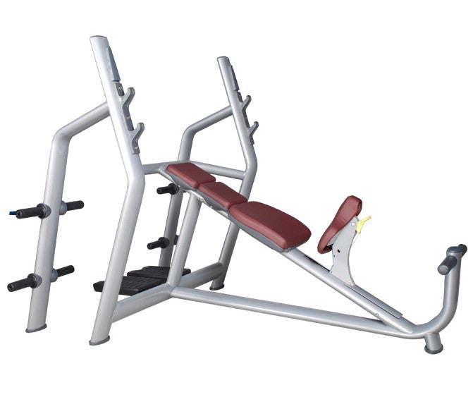 IC-6030 Commercial Olympic Incline Bench Press Gym Fitness Strength