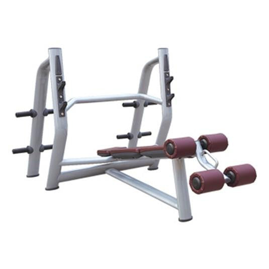IC-6043 Commercial Olympic Decline Bench Press Gym Fitness Strength