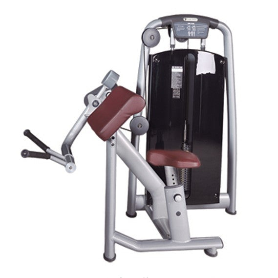 IC-6046 Bicep Curl Pin Loaded Machine Gym Fitness Strength
