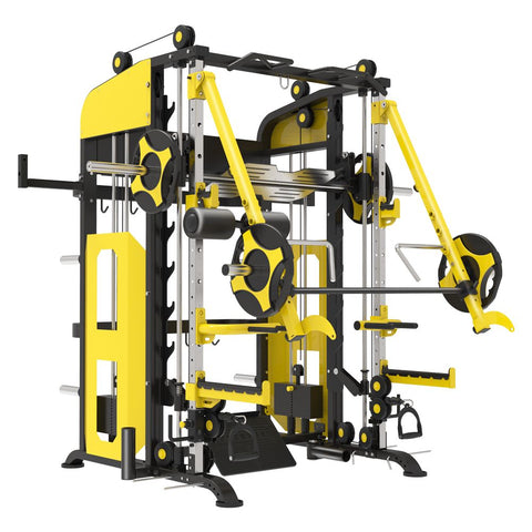 IC-B114 Behemoth Multi Cross Functional Trainer Smith Machine. Pre-Order ETA Late November.