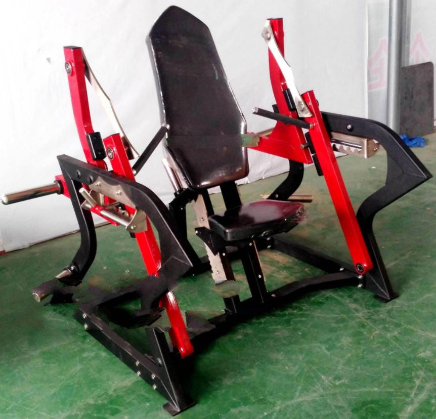 ICH91 Chest Press Plate Loaded Gym Fitness Machine Commercial Quality.