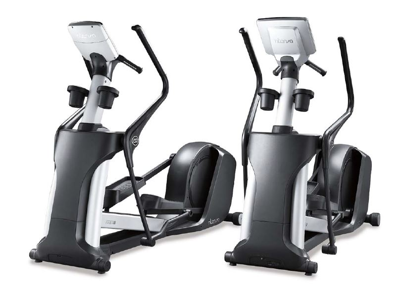 Intenza 550 ETe2 Elliptical Cross Trainer Entertainment Console.