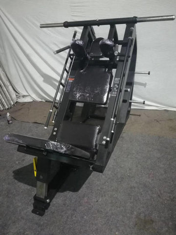 Duel Leg Press/ Hack Squat Full Commercial  Linear Bearing