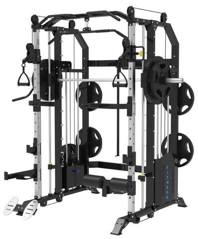 IC-1001 Multi functional Smith Machine Combo. 2 x 100kg Weight Stack. Pre-order ETA End Of November/December