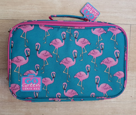 Go Green Lunchbox Set - Flamingo