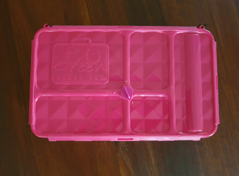 Go Green Lunchbox Large (Pink/Green/Purple/Blue)