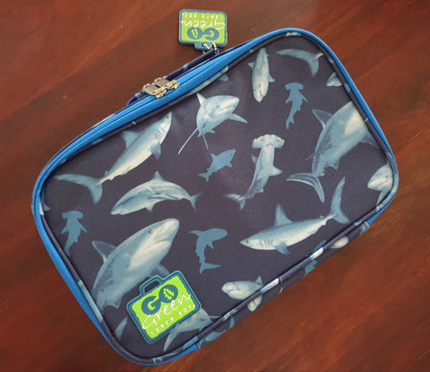 Go Green Lunchbox Set - Shark Frenzy