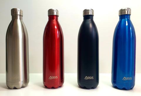 OASIS 1L Stainless Steel Double Insulated Water Bottle