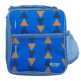Fridge 2 Go Medium- Blue Triangles