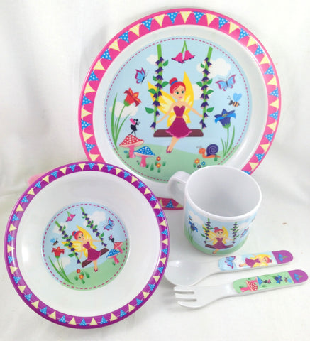 Fairy 5 Piece Dinner Set - Love My Lunchbox