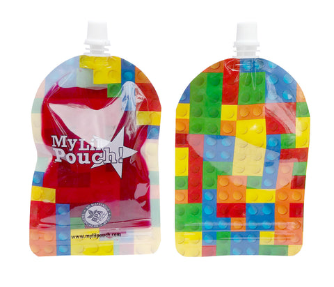 My lil Pouch -  Brick Pouches 140ml - 5pk