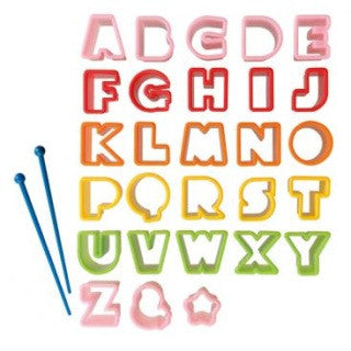 Alphabet Cutters - Love My Lunchbox
