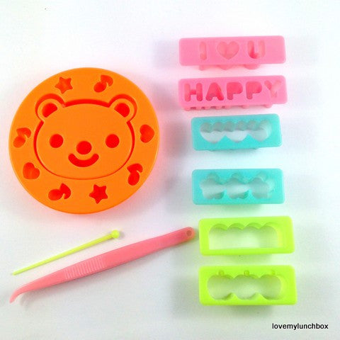 Bear & Message Mini Food Cutter - Love My Lunchbox