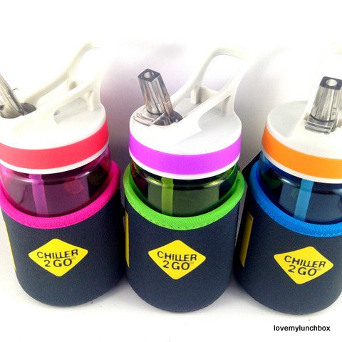 Chiller 2 go - Tritan Drink Bottle 350ml - Love My Lunchbox