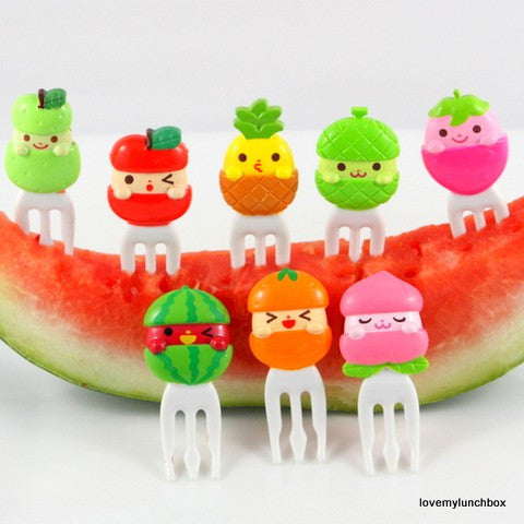 Fun Fruit Forks - Love My Lunchbox