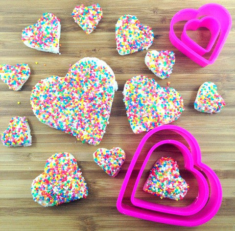 Heart or Star Sandwich / Cookie cutter - Love My Lunchbox - 1