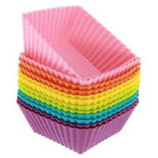 Square Silicone Food Cup - Love My Lunchbox