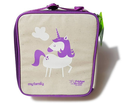 My Family- Lunch bag by Fridge to Go- UNICORN