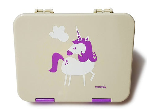 My Family Super Bento lunchbox- Unicorn