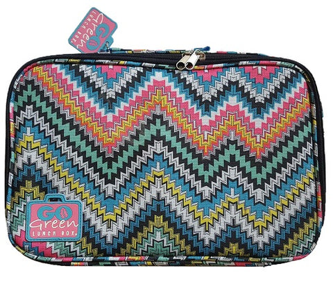 Go Green Lunchbox Set - zig zag