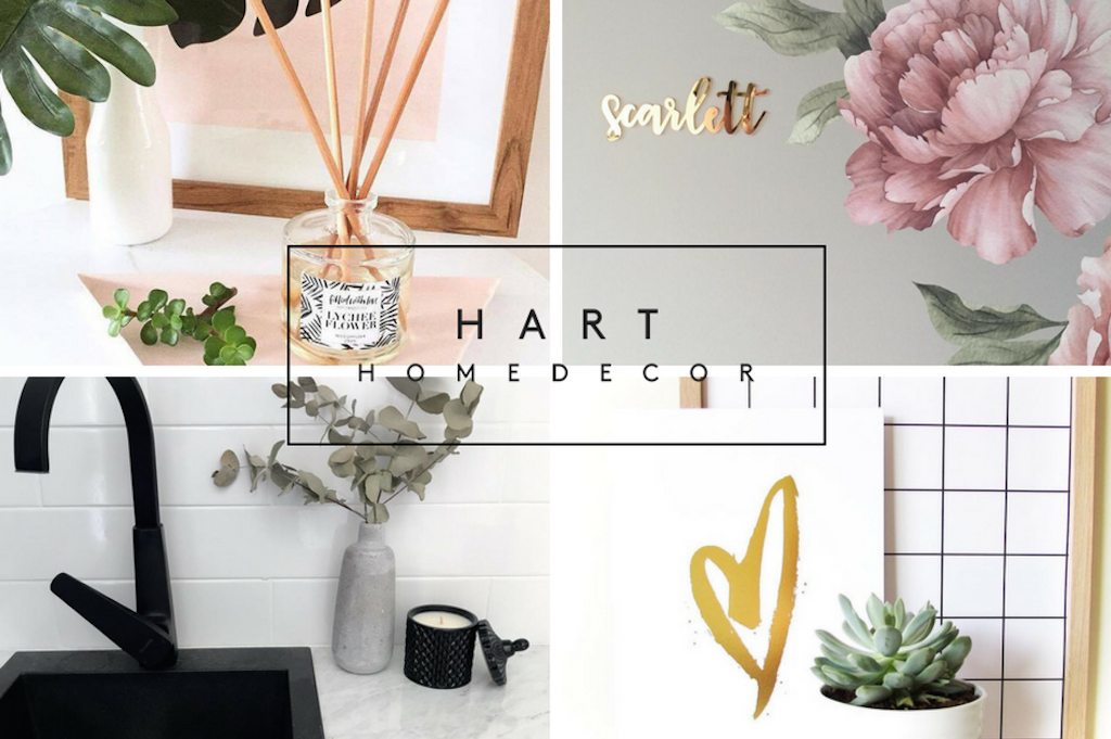 ✗ THE HEART OF HART HOME DECOR