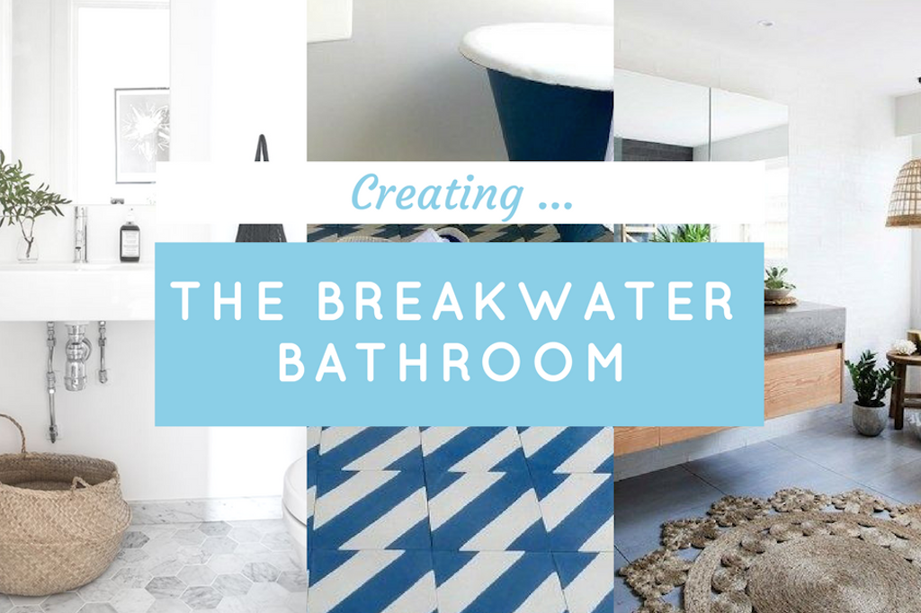 ✗ GET THE BREAKWATER BATHROOM LOOK