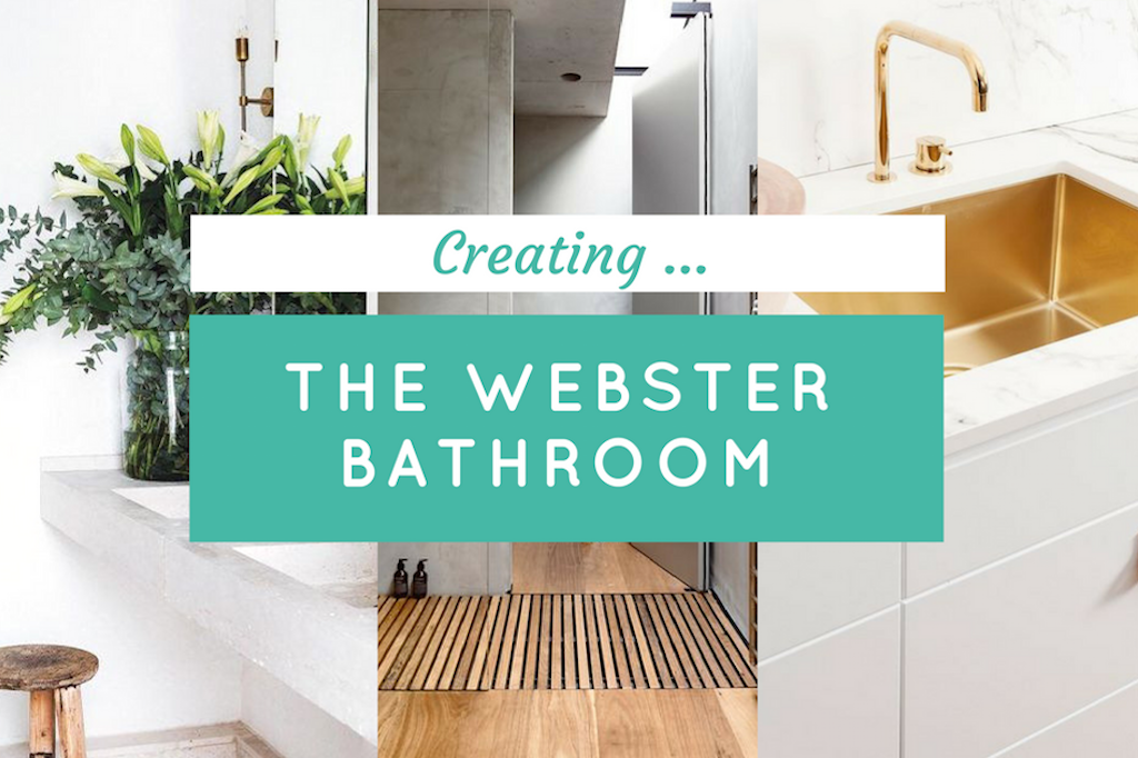✗ GET THE WEBSTER BATHROOM LOOK ... 3 EASY STYLES
