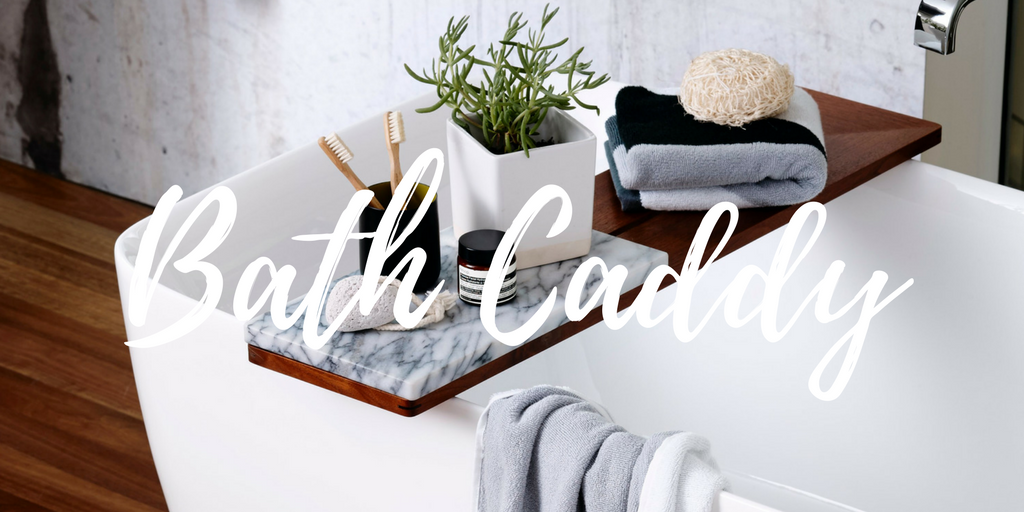 Bath Towel Styling Tips - Bath Caddy