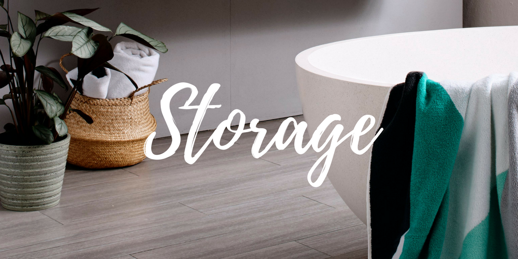 Bath Towel Styling - Storage