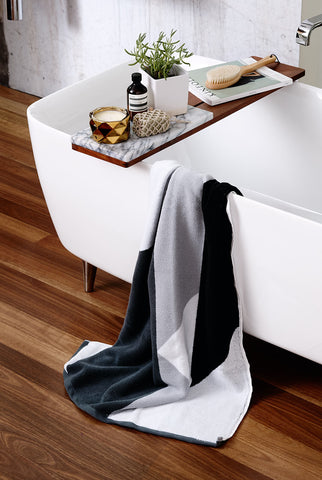 SHADOW Luxury Bath Towel by Sunday Minx