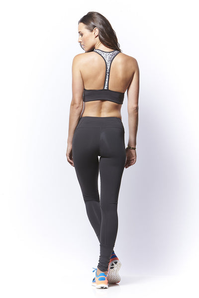 Solid Full Length Compression Tight
