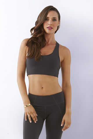 Solid Sports Crop Top