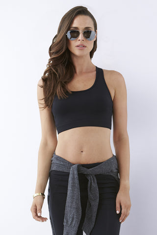 Essential Studio Sports Bra - Black