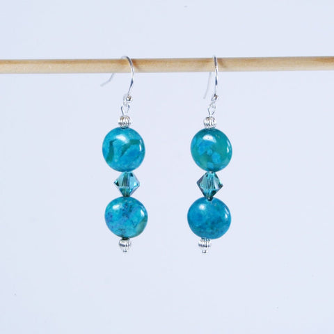 Blue Bounty Swarovski Earring